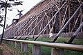 Schoenebeck. Volksbad Salzelmen Gradierwerk. DDR May 1990 (4609127139).jpg
