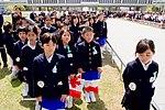 School Children Await Secretary Kerry After He Laid a Wreath at the Hiroshima Peace Memorial (26363496165).jpg