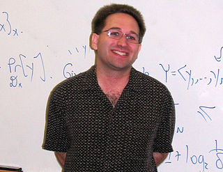 Scott Aaronson American scientist, working on the field of quantum computing
