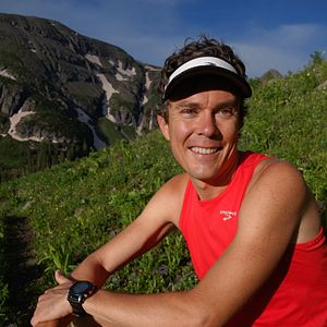 Brooks Sports - Scott Jurek wearing Brooks Sports branded clothing