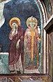 Scuola toscana, crocifissione e santi con stemmi monaldeschi, 1293, 04.jpg