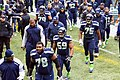 Seattle Seahawks linemen and receivers in 2013.jpg