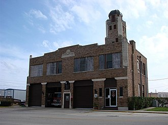 National Register of Historic Places listings in Highlands County, Florida - Image: Sebring FD