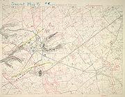 Second Battle of Passchendaele - Third Stage (Nov 6) Brigade Planning Map