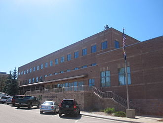 Douglas County, Colorado - Second Douglas County office building in Castle Rock