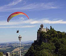 Second Tower in San Marino and Paragliding 2.jpg