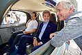 Secretary Kerry Chats With Google Co-Founder Brin and a Leader of Google's Self-Driving Project at the 2016 Global Entrepreneurship Summit's Innovation Marketplace at Stanford University (27786626051).jpg