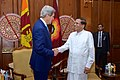 Secretary Kerry Meets With Sri Lankan President Sirisena in Colombo (17338523652).jpg