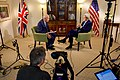 Secretary Kerry Sits For Interview With London's Channel 4 Presenter Snow During Interview in U.K. (20902280024).jpg