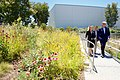 Secretary Kerry Walks With Facebook Employees Tierney and Rice as He Views the Rooftop Garden at Facebook's New Headquarters in Menlo Park (27788574941).jpg
