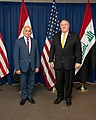 Secretary Pompeo and Iraqi Foreign Minister Hussein Deliver Opening Remarks at the U.S.-Iraq Strategic Dialogue (50244012273).jpg