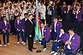 Seeing-off ceremony for Azerbaijani sportsmen to represent the country at the Rio 2016 Summer Olympic Games 26.jpg