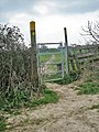 Seem to be a lot of kissing gates on this footpath. - geograph.org.uk - 1802450.jpg
