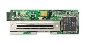 Conexant - The motherboard for a dial-up modem for the Sega Dreamcast video game console, showing a Conexant chip.