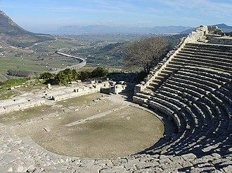 Segesta - The Greek theatre