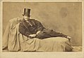 Self portrait of Adrien Tournachon, full figure, reclining.jpg