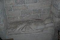 Sepulcro de la reina Leonor. Iglesia de Ntra. Sra. del Manzano de Castrojeriz--3.JPG