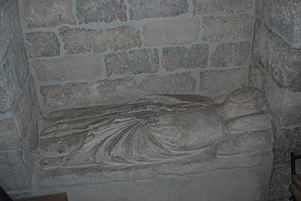 Eleanor of Castile (1307–1359) - Alleged sepulcher of Queen Eleanor of Castile in the Church of Nuestra Señora del Manzano of Castrojeriz.
