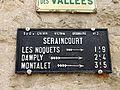 Seraincourt (95), plaque de cocher 2.JPG