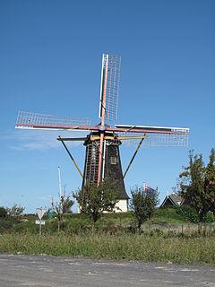 Serooskerke, Walcheren Village in Zeeland, Netherlands
