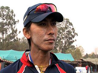 Shakti Gauchan Nepalese cricketer