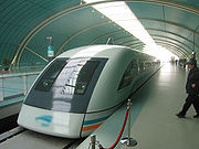 The Transrapid in Shanghai is developed jointly by Siemens AG and ThyssenKrupp AG.