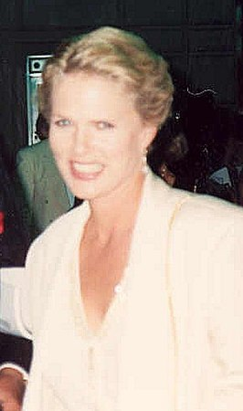 Sharon Gless at the 1991 Emmy Awards