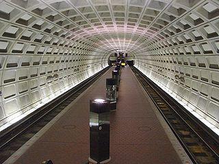 Shaw–Howard University station Washington Metro station