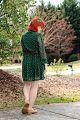 Sheer Sleeved Green Polka Dot Dress, Red Hair, and Tan Flat Loafers (16821424966).jpg