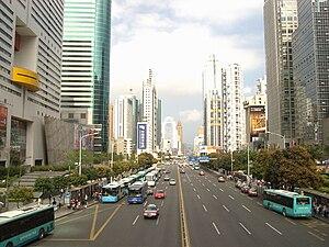 Shennan Road - Image: Shennanzhong RD