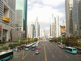 road in Guangdong, China