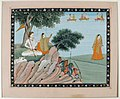 Shiva and Parvati (Shiva sends Parvati away) (6125136712).jpg