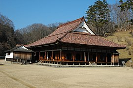 Shizutani school the hall and shosai.JPG