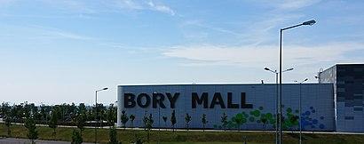 Ako do Bory Mall hromadnou dopravou - O mieste