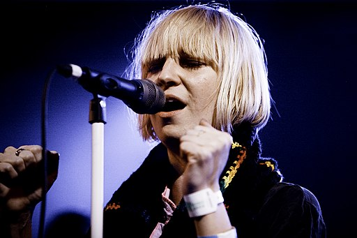 Sia performing photograph by Kris Krug