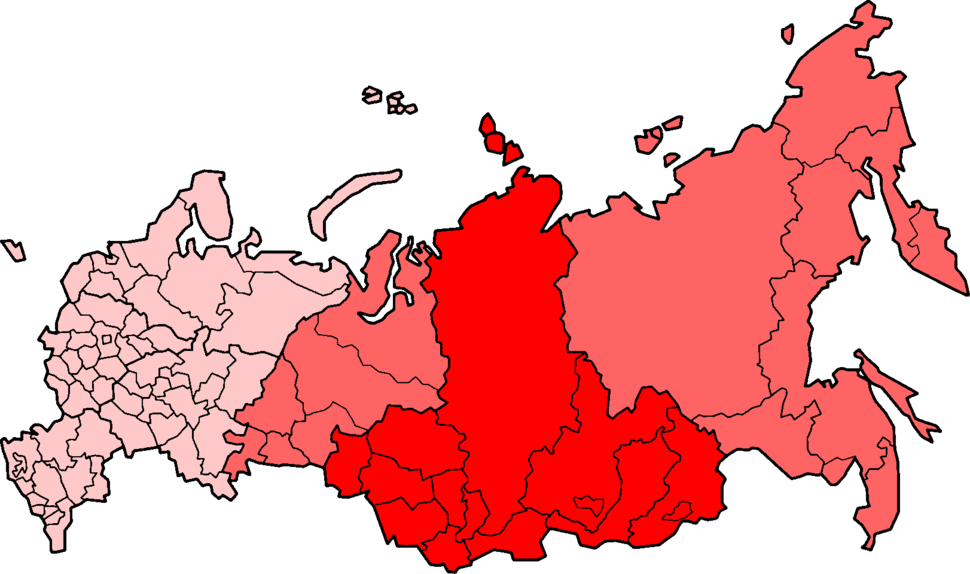 Siberia Federal Subjects