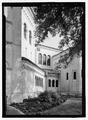 Side view - Riverside Baptist Church, 2650 Park Street, Jacksonville, Duval County, FL HABS FLA,16-JACK,12-5.tif