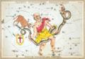 Sidney Hall - Urania's Mirror - Taurus Poniatowski, Serpentarius, Scutum Sobiesky, and Serpens.png