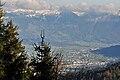 Siebnen, Reichenburg, und Benkner Büchel in der Linthebene, Ansicht vom Etzel Uto Kulm 2010-10-21 16-50-58.jpg