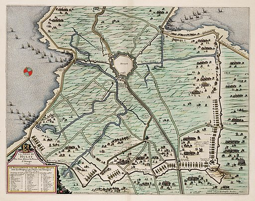 Siege of Hulst in 1645 (Johan van Duynen)