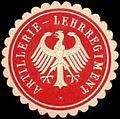 Siegelmarke Artillerie - Lehrregiment W0239459.jpg