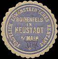 Siegelmarke Fürstl. Löwensteinsches Rentamt Rothenfels in Neustadt-Main W0356531.jpg