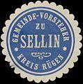 Siegelmarke Gemeinde-Vorstand zu Sellin Kreis Rügen W0382879.jpg