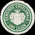 Siegelmarke Gemeinde Engelswald und Lilien W0319845.jpg