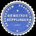 Siegelmarke Herzogthum Braunschweig - Gemeinde Süpplingen W0226336.jpg