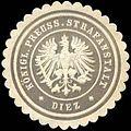 Siegelmarke Königlich Preussische Strafanstalt - Diez W0233877.jpg