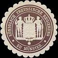 Siegelmarke K.Pr. Regierung zu Münster W0358749.jpg