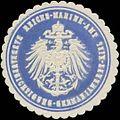 Siegelmarke K. Marine Baubeaufsichtigung-Germaniawerke-Kiel W0357441.jpg