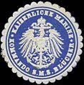 Siegelmarke K. Marine Kommando S.M.S. Blücher W0357641.jpg