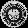 Siegelmarke Kreisausschuss des Kreises - Westprignitz W0215323.jpg